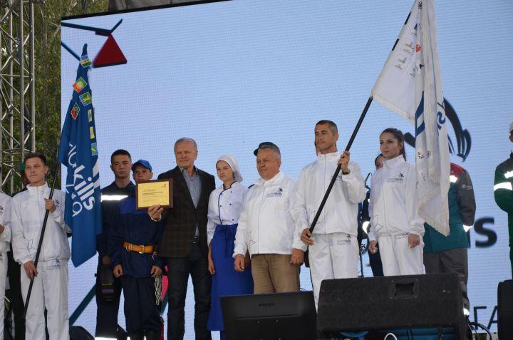 ВБавлинском районе состоялась праздничная церемония чествования флага «Worldskills» («Ворлдскиллс»)